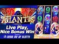 Fortunes of Atlantis Slot - Low-Rollin, Live Play and Nice Free Spins Bonus