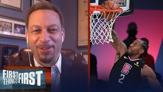 Chris Broussard on Clippers strengths as they took Nuggets in Semis GM 1 | NBA | FIRST THINGS FIRST