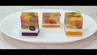 Rau câu trái cây - New York / Fruits Jelly