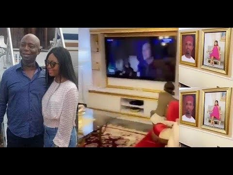 Image result for Regina Daniels gives a sneak peek of what her husband's living room looks like (video)