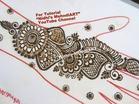 Arabic Mehndi Patterns S : Popular arabic henna mehndi designs for hands best