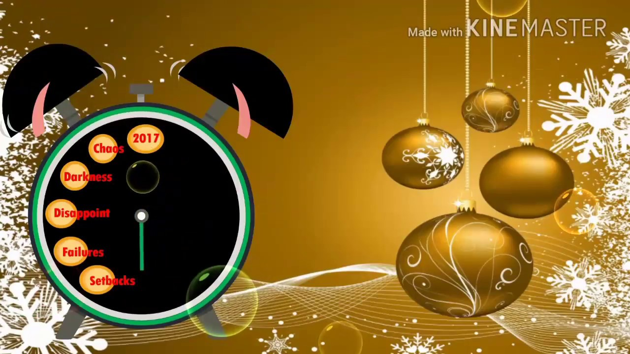 Happy New Year 2018 Countdown Touch The Clockwhatsapp