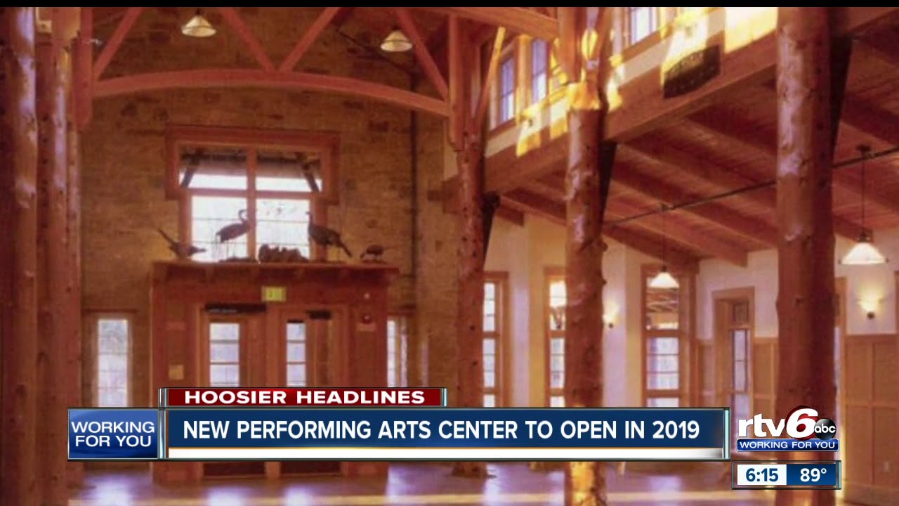 New Brown County performing arts center to open in 2019