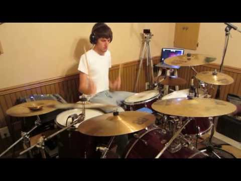 Anberlin - A Day Late (Drum Cover HD)
