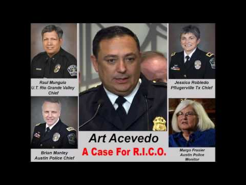 Retired Undercover Austin Police Officer Records 4 Texas Police Chiefs Committing Racketeering