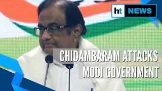 From J&K to economy: Chidambaram slams Modi govt in 1st presser post-bail