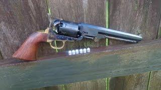 Shooting the 1851 Colt Navy Revolver .36 Caliber