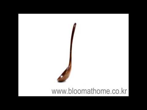 옻칠 나무 국자 -주방용품[블룸엣홈]