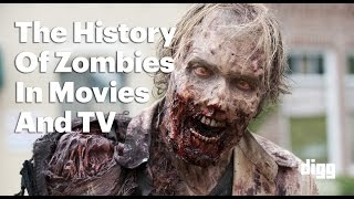 The Evolution Of Zombies In Movies And TV