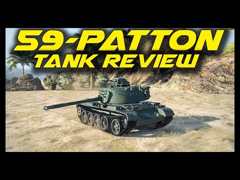 ► World of Tanks: 59-Patton Tank Review - Tier 8 Chinese Premium Medium Tank - 59-Patton Gameplay