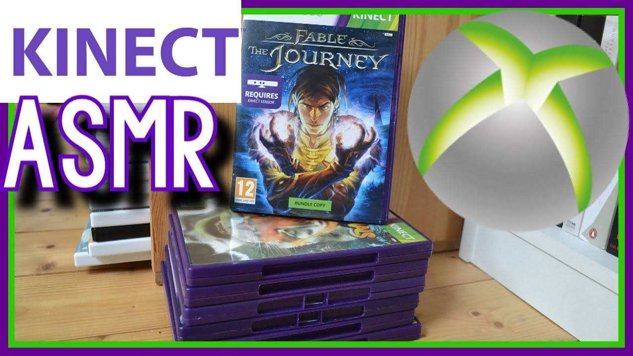 ASMR Xbox 360 Kinect Games Collection ~ British *Whispering*