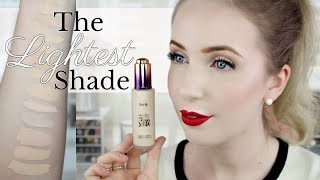 Tarte Rainforest of the Sea Foundation & Aquacealer REVIEW | Swatches & Demo on Pale Skin