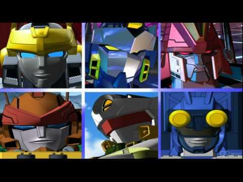 Transformers Cybertron Intro (1080p HD)