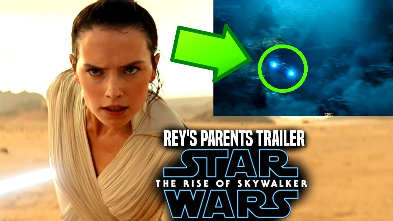 Star Wars The Rise Of Skywalker Trailer Rey S Parents Explained Star Wars Episode 9 Youtube