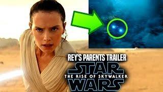 Star Wars The Rise Of Skywalker Trailer! Rey's Parents Explained (Star Wars Episode 9)