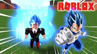 ROBLOX-THE BASE OF power ULTRA SUPER SAIYAN BLUE 2 by VEGETA-Dragon Ball X