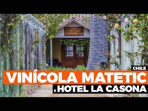 VINÍCOLA NO CHILE, MATETIC VEJA COMO É VISITAR E SE HOSPEDAR