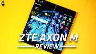 ZTE Axon M Dual-Screen Phone Review And my Opinion , Foldable Smartphone Is REAL || AB TECH TIPS ||