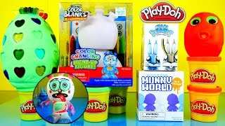 Color Changing Light Up Figure How To Draw Rose Arts Kidrobot Play Doh Surprise Eggs Toys Play Dough