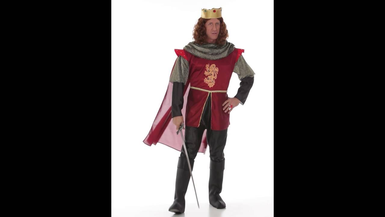Königlicher Ritter Kostüm - YouTube