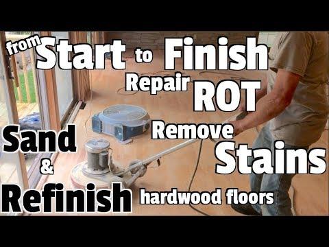 Hardwood Floors Repair Refinish And Restore Diy Home Renovation