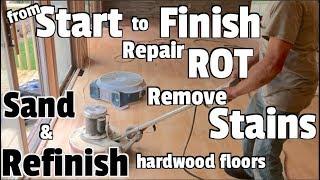 Hardwood Floors-Repair, Refinish, and Restore - DIY Home renovation