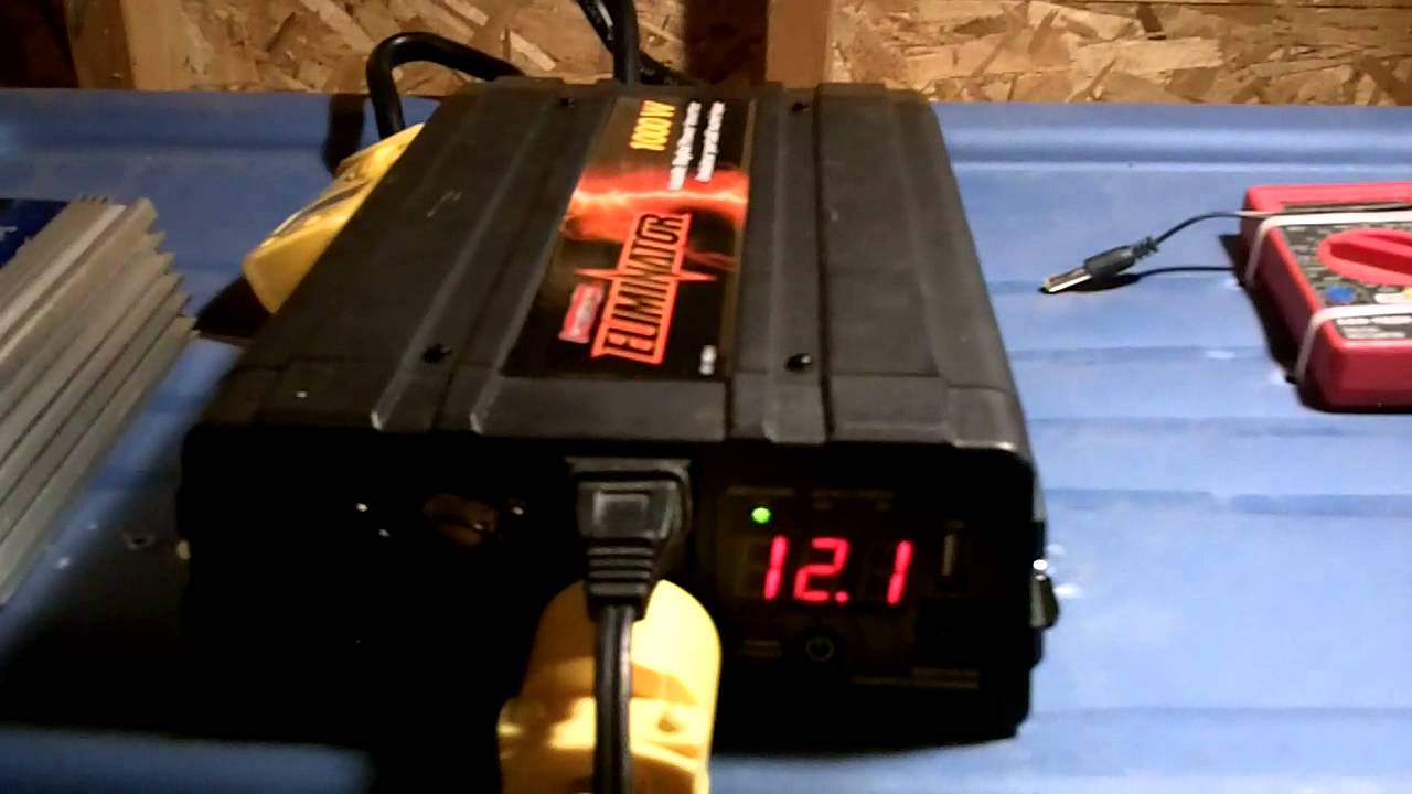 Inverter Circuit 3000w Power House Running Off 1000w Youtube