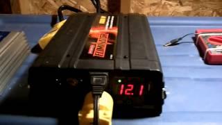House running off 1000W inverter