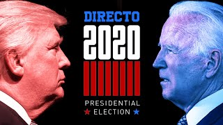 #DIRECTO 🔴 ELECCIONES EN EE.UU. 2020: La jornada electoral, resultados y análisis al minuto | RTVE