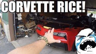 HUGE RICER WING For MY Corvette!