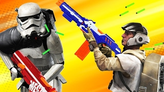 5 Star Wars Battlefront Weapons We Want as NERF Guns - Up At Noon Live!
