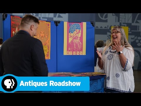ANTIQUES ROADSHOW  Fort Worth, Hour 1 Preview: Rock & Roll Poster Collection  PBS