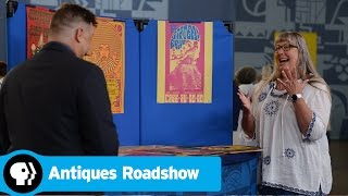 ANTIQUES ROADSHOW | Fort Worth, Hour 1 Preview: Rock & Roll Poster Collection | PBS