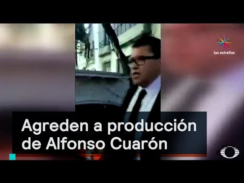 Agreden a producción de Alfonso Cuarón en la CDMX - Despierta con Loret