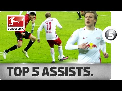 Emil Forsberg - Top 5 Assists