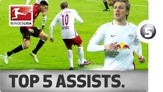 Emil Forsberg - Top 5 Assists