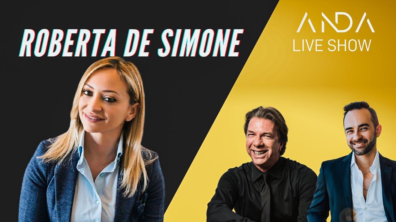 ANDA Live Show con ospite Roberta De Simone