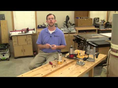 Using a Gun Bore Kit to Clean Router Collets