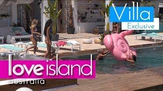 Erin and Millie fight over the flamingo | Love Island Australia 2018