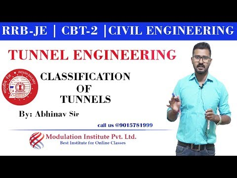 #1-best-for⚡-rrb-je-|-tunnel-engineering-|-classification-of-tunnels-|⚡