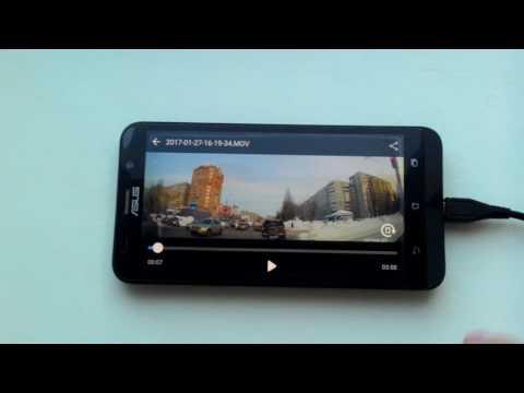 Как передать видео с регистратора на андроид