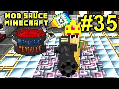 Minecraft Mod Sauce Ep. 35 - King Corp. !!! ( HermitCraft Modded Minecraft )