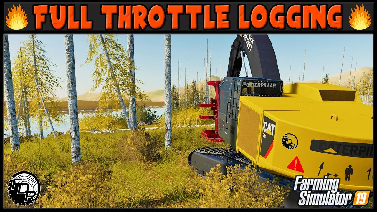 Download Bunching Out The Lake Clearing! 🔥 FTL #7 🔥 ✔ Farming Simulator 2019 ✔ FDR Logging