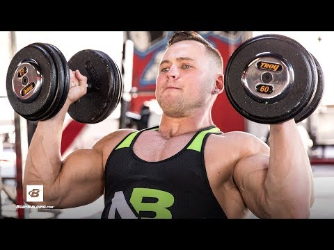 Muscle-Building Chest and Shoulders Workout   Hunter Delfa