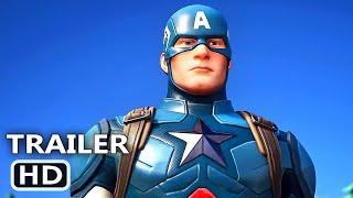 PS4 - Fortnite Captain America Trailer (2020)