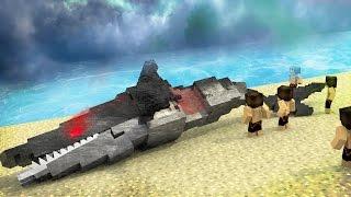 Jaws Movie 2 - How To Kill Mega Robo Shark! (Minecraft Roleplay) #9