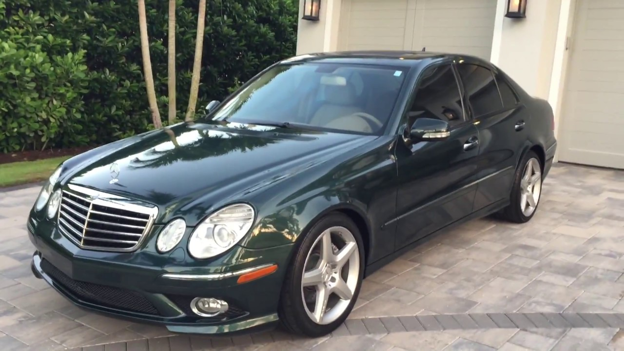 2009 Mercedes Benz E350 Amg Sport For Sale By Auto Europa
