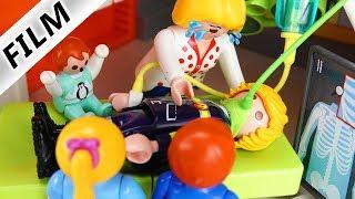Playmobil Film deutsch | PAPAS FEUERWEHR UNFALL - Wegen Vergiftung im Krankenhaus | Familie Vogel