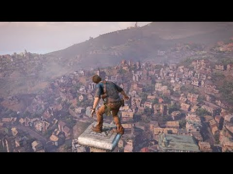 Uncharted 4 Clock Tower Destruction Scene