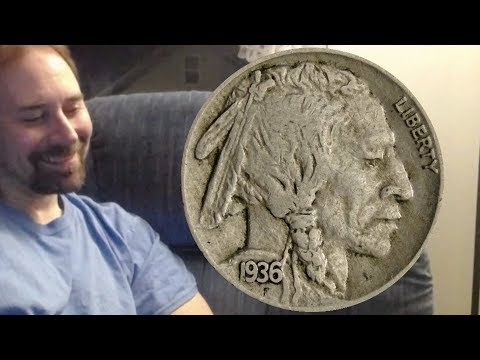 USA Buffalo Nickel 1936 Coin